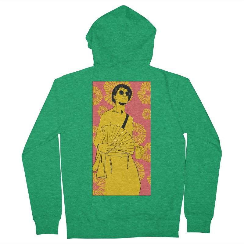 Party Josh Women's Zip-Up Hoody by Boshik's Tshirt Shop