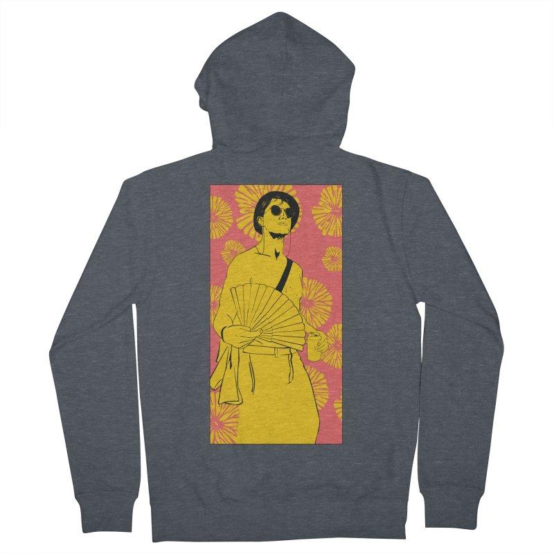Party Josh Women's French Terry Zip-Up Hoody by Boshik's Tshirt Shop