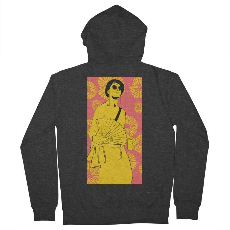 Party Josh Men's Zip-Up Hoody by Boshik's Tshirt Shop