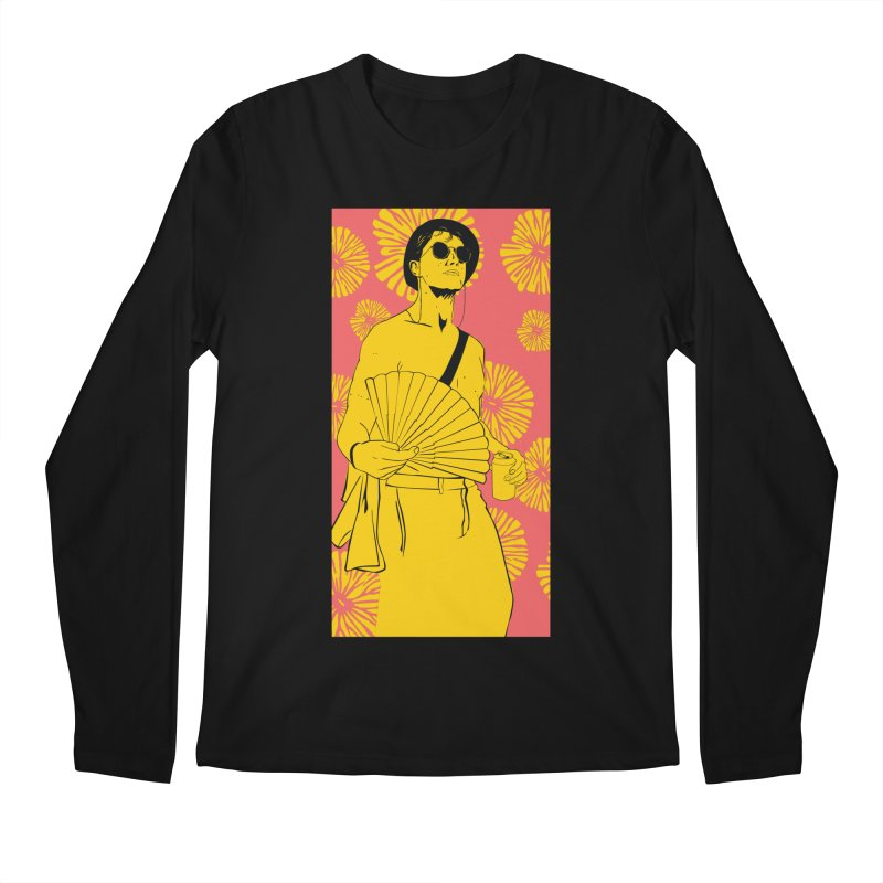 Party Josh Men's Regular Longsleeve T-Shirt by Boshik's Tshirt Shop