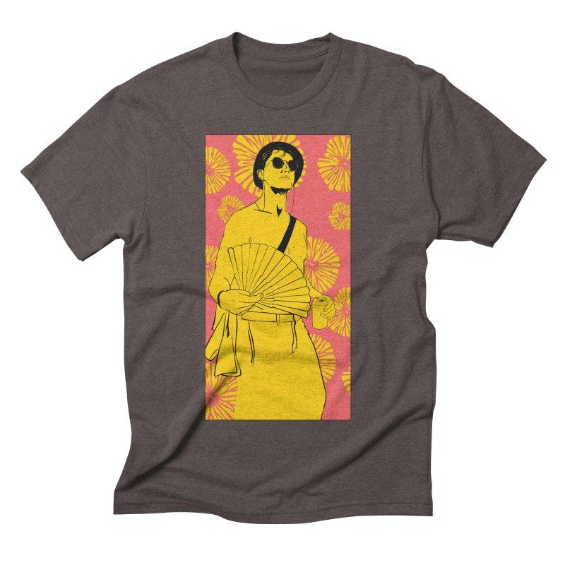 Party Josh Men's Triblend T-Shirt by Boshik's Tshirt Shop