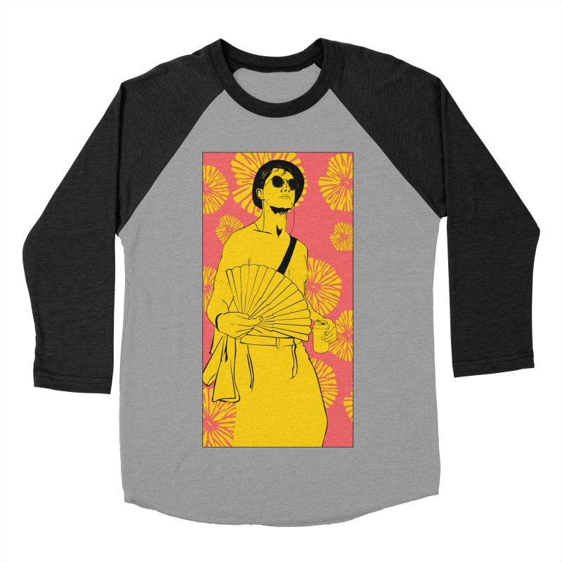 Party Josh Women's Baseball Triblend Longsleeve T-Shirt by Boshik's Tshirt Shop