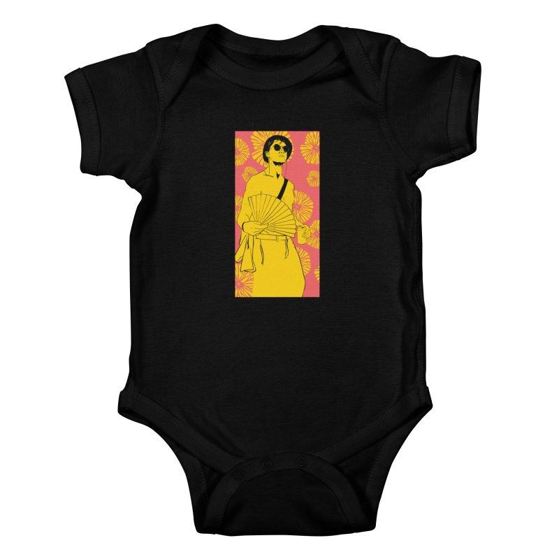 Party Josh Kids Baby Bodysuit by Boshik's Tshirt Shop