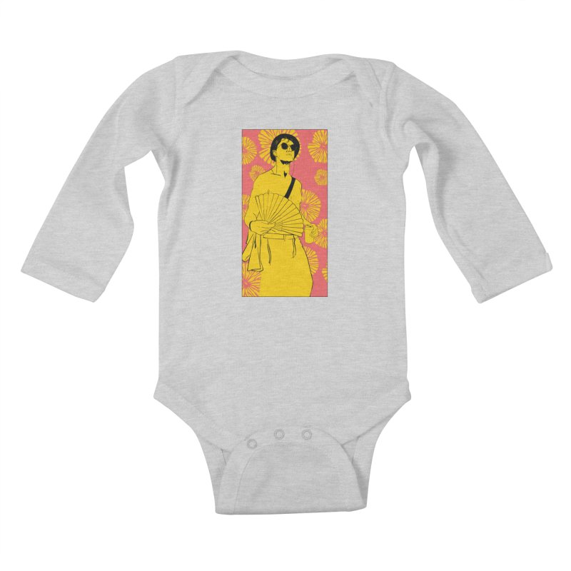 Party Josh Kids Baby Longsleeve Bodysuit by Boshik's Tshirt Shop