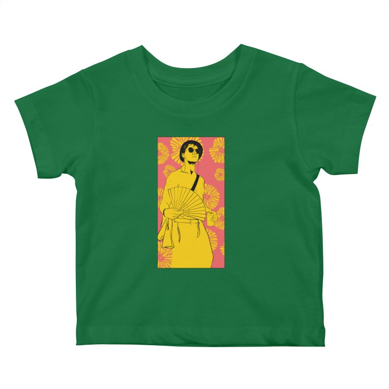 Party Josh Kids Baby T-Shirt by Boshik's Tshirt Shop