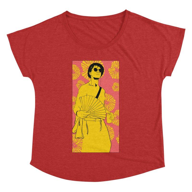 Party Josh Women's Dolman Scoop Neck by Boshik's Tshirt Shop