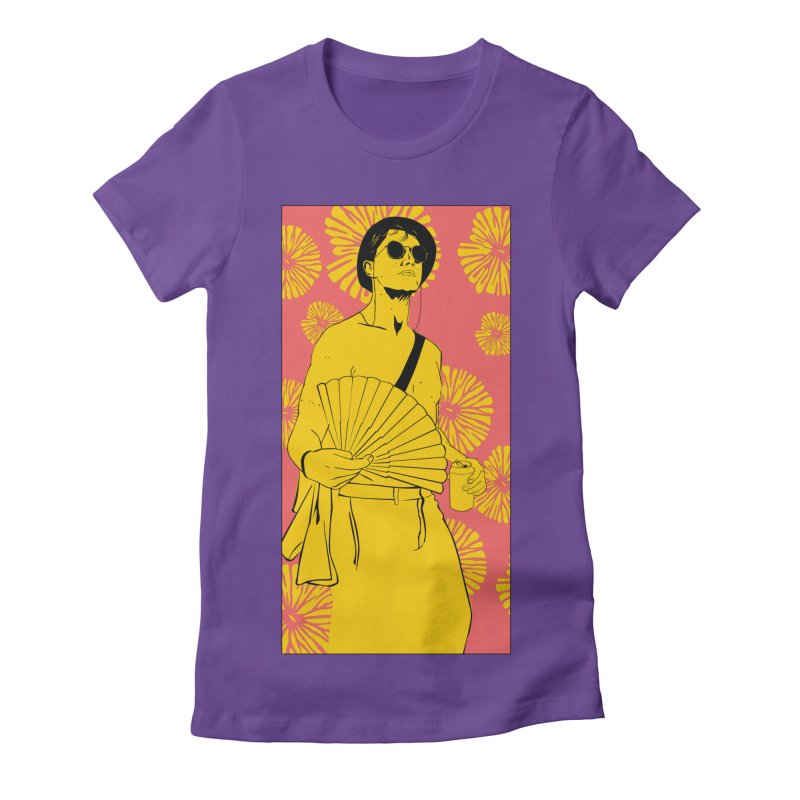 Party Josh Women's Fitted T-Shirt by Boshik's Tshirt Shop