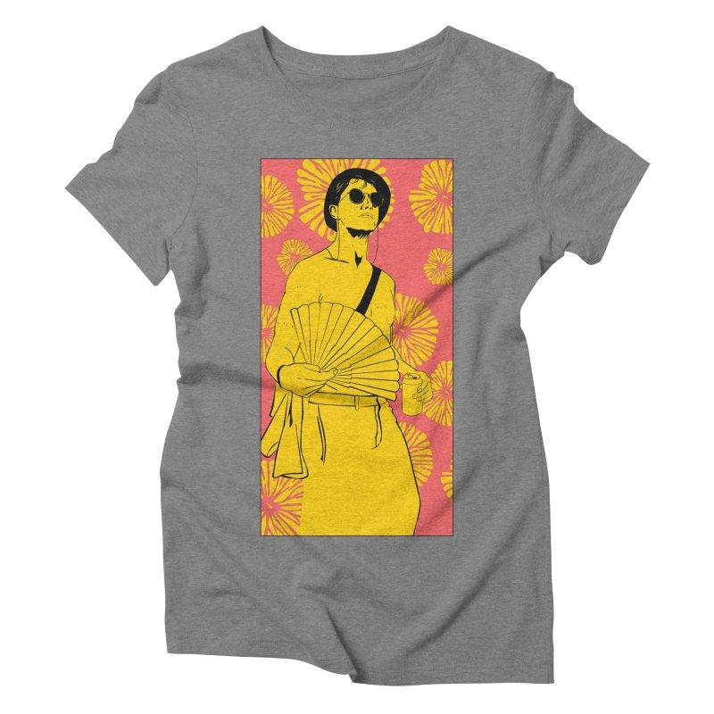 Party Josh Women's Triblend T-Shirt by Boshik's Tshirt Shop