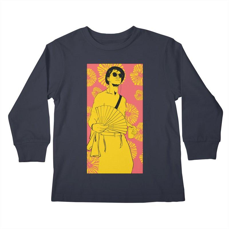 Party Josh Kids Longsleeve T-Shirt by Boshik's Tshirt Shop
