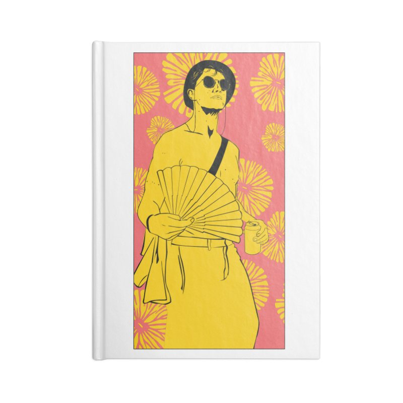 Party Josh Accessories Blank Journal Notebook by Boshik's Tshirt Shop