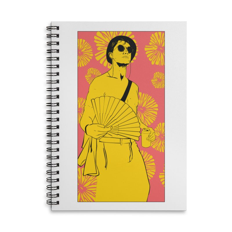 Party Josh Accessories Lined Spiral Notebook by Boshik's Tshirt Shop