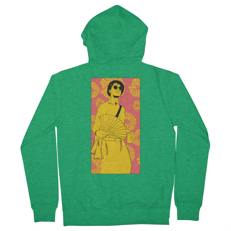 Party Josh Men's Zip-Up Hoody by Boshik's Tshirt Shop