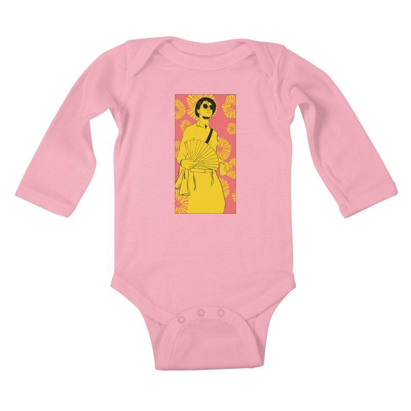 Party Josh Kids Baby Longsleeve Bodysuit by Boshik's Tshirt Shop