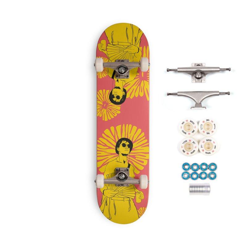 Party Josh Accessories Skateboard by Boshik's Tshirt Shop