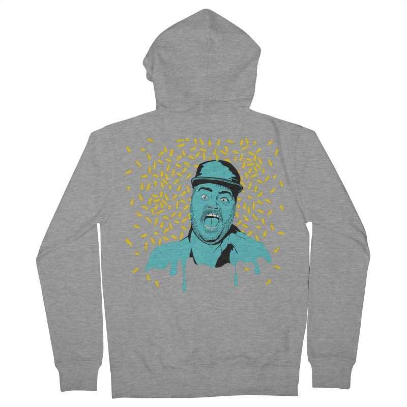 Madness Men's French Terry Zip-Up Hoody by Boshik's Tshirt Shop