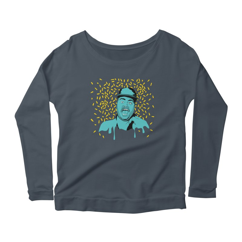 Madness Women's Scoop Neck Longsleeve T-Shirt by Boshik's Tshirt Shop