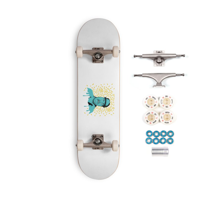 Madness Accessories Complete - Premium Skateboard by Boshik's Tshirt Shop