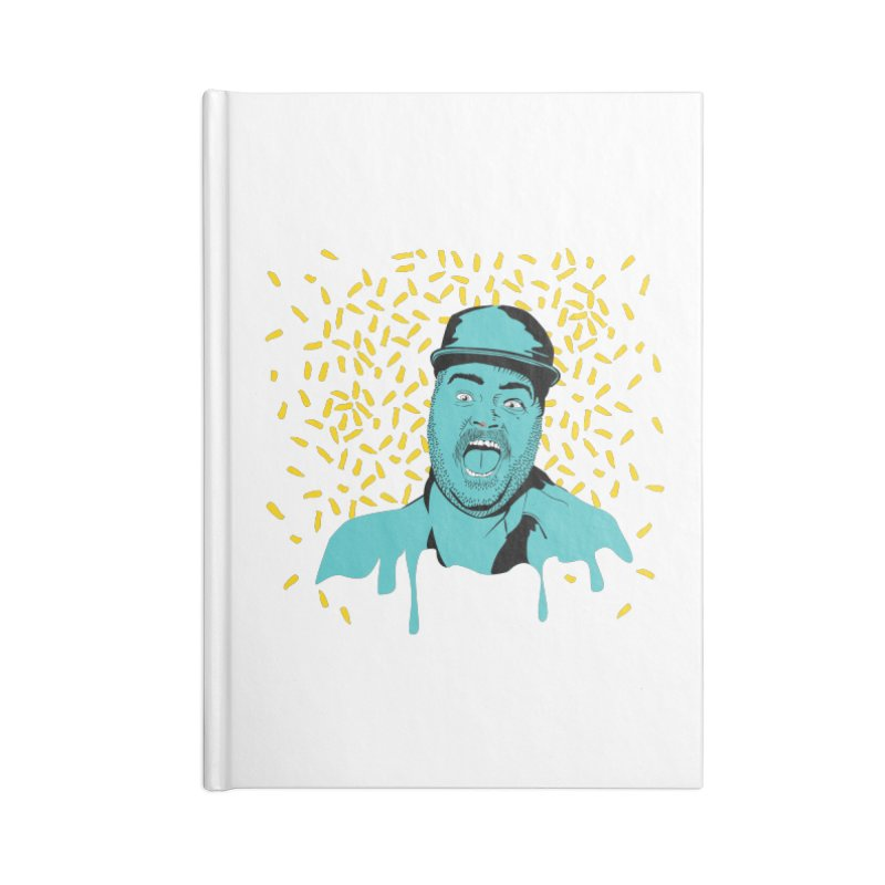 Madness Accessories Blank Journal Notebook by Boshik's Tshirt Shop