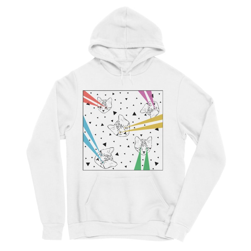 Lazer Cat Women's Pullover Hoody by Boshik's Tshirt Shop