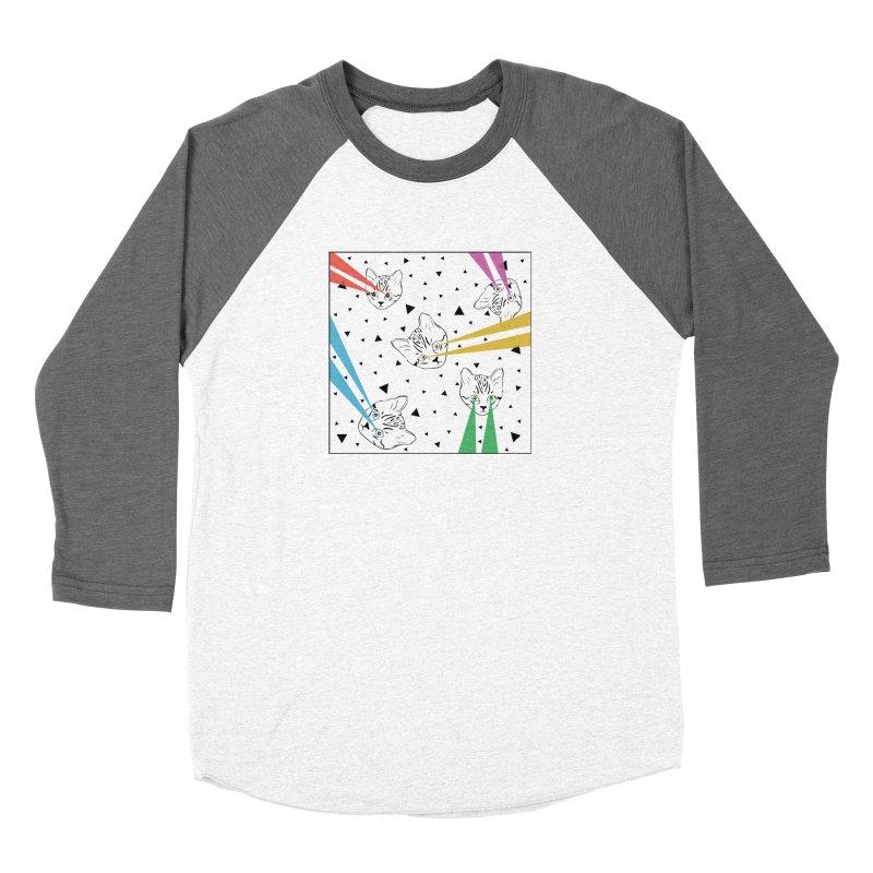 Lazer Cat Women's Longsleeve T-Shirt by Boshik's Tshirt Shop