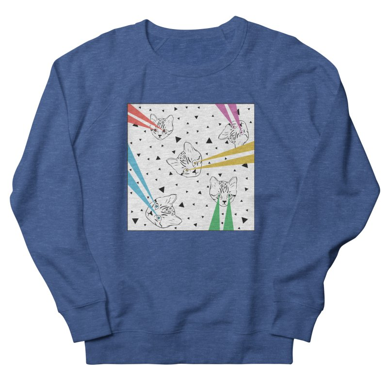 Lazer Cat Men's Sweatshirt by Boshik's Tshirt Shop