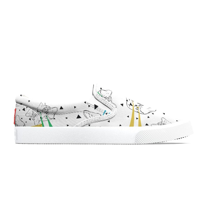 Lazer Cat Men's Shoes by Boshik's Tshirt Shop