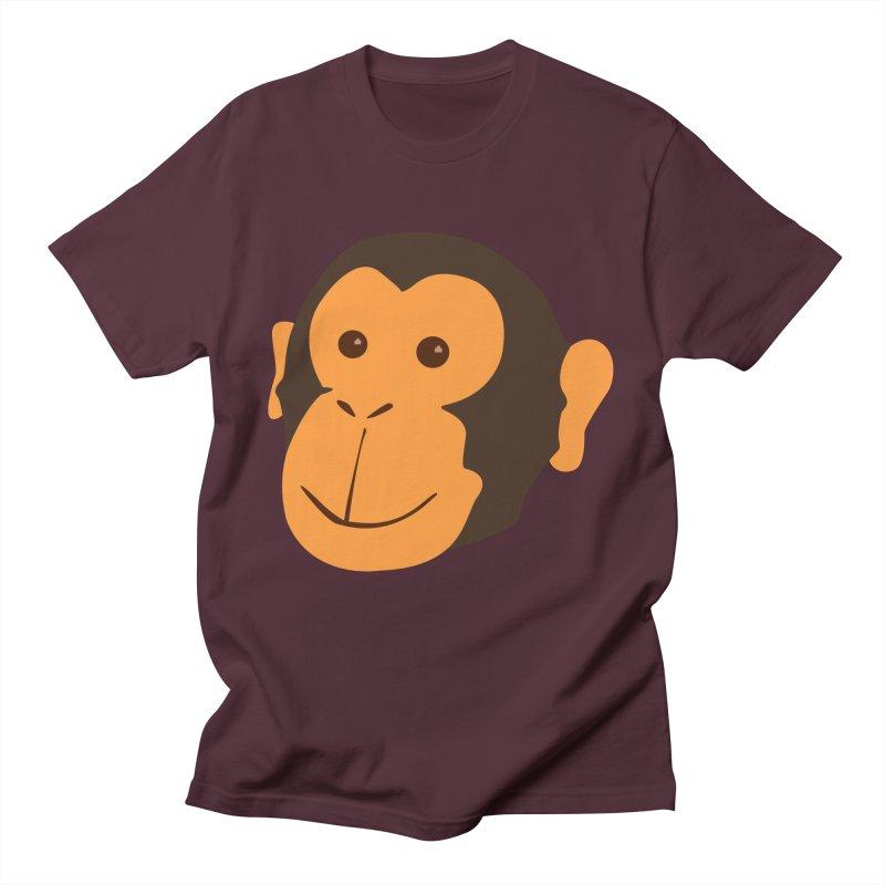 Happy Monkey Men's T-Shirt by Boshik's Tshirt Shop