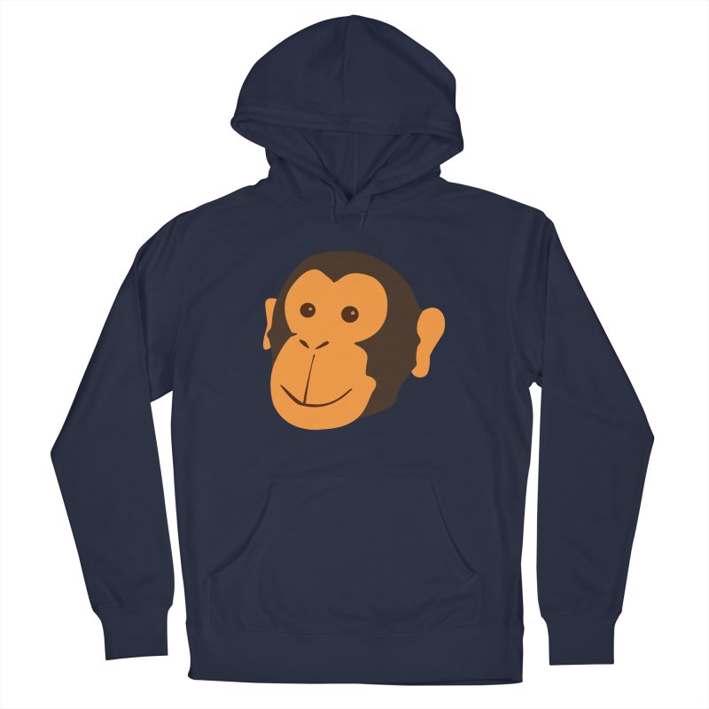 Happy Monkey Men's Pullover Hoody by Boshik's Tshirt Shop