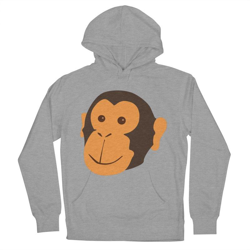 Happy Monkey  Women's Pullover Hoody by Boshik's Tshirt Shop