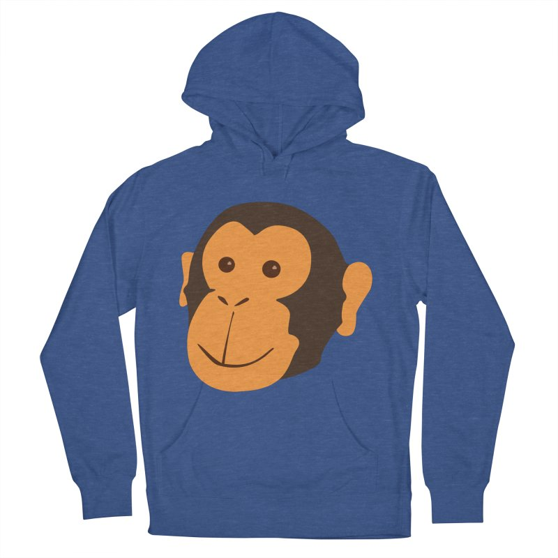 Happy Monkey Men's French Terry Pullover Hoody by Boshik's Tshirt Shop