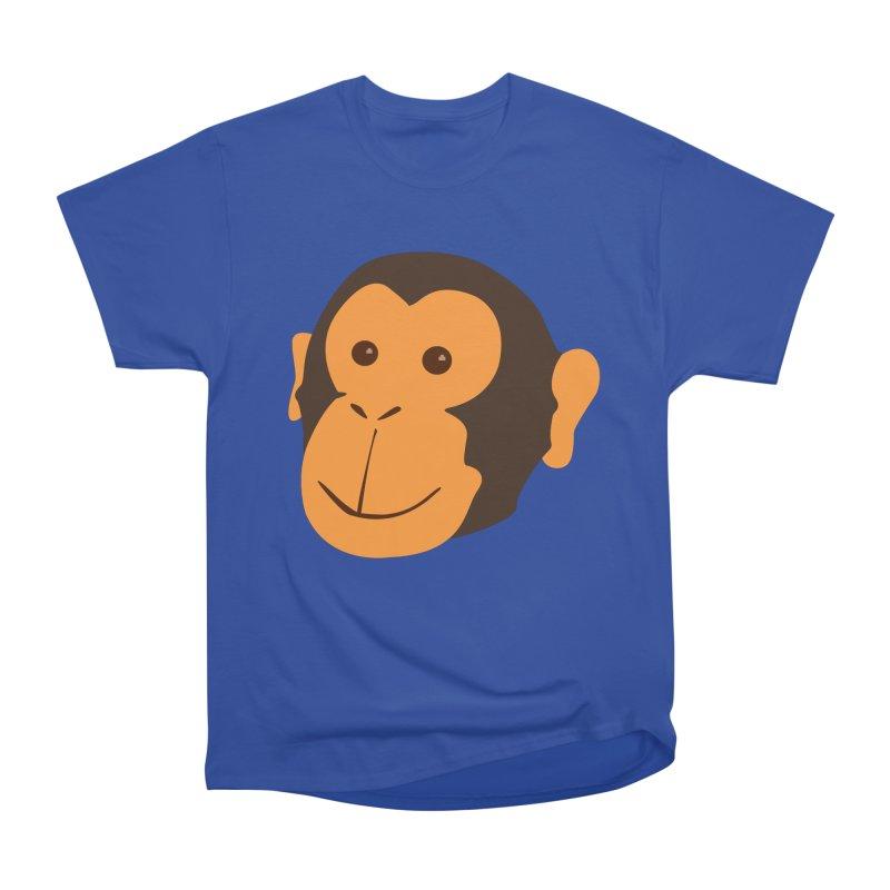 Happy Monkey Women's Heavyweight Unisex T-Shirt by Boshik's Tshirt Shop