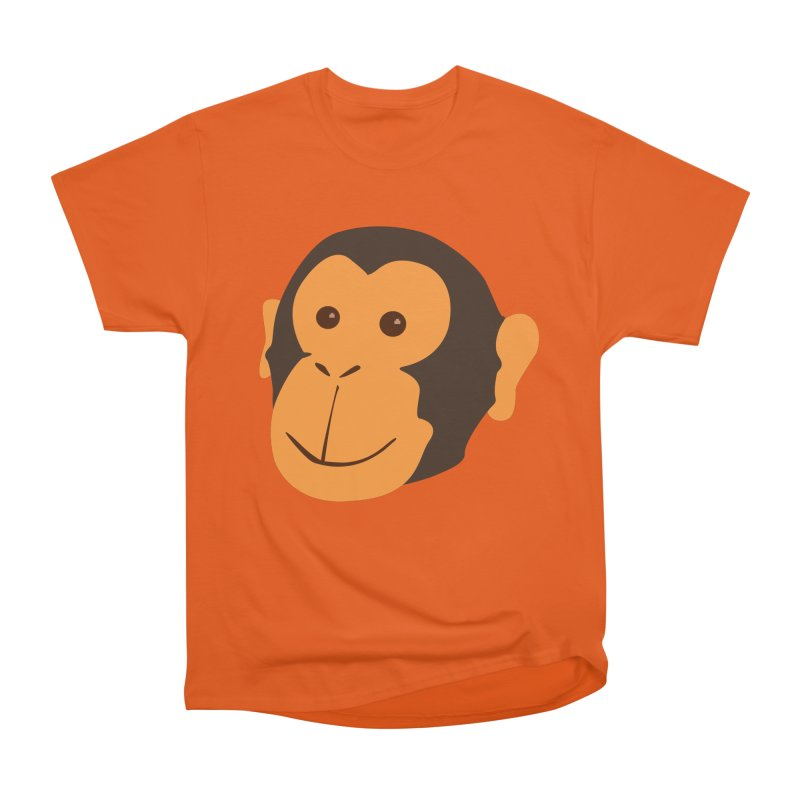 Happy Monkey Men's Heavyweight T-Shirt by Boshik's Tshirt Shop