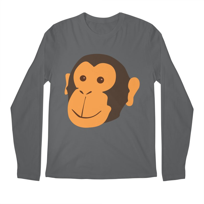 Happy Monkey Men's Longsleeve T-Shirt by Boshik's Tshirt Shop