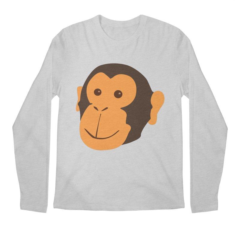 Happy Monkey Men's Longsleeve T-Shirt by Boshik's Tshirt Shop