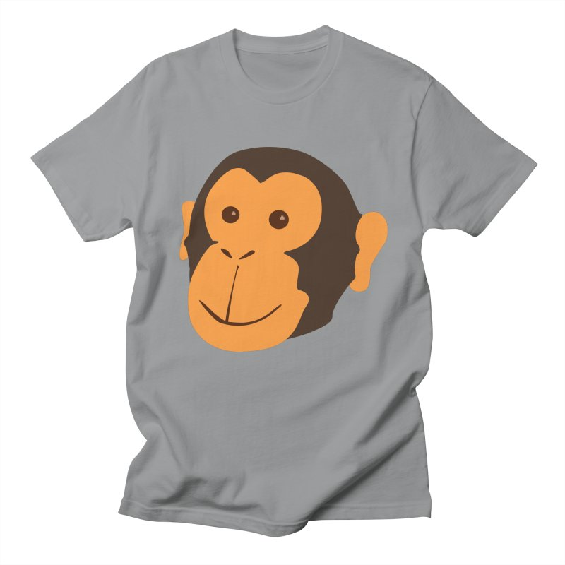 Happy Monkey Men's T-Shirt by Boshik's Tshirt Shop
