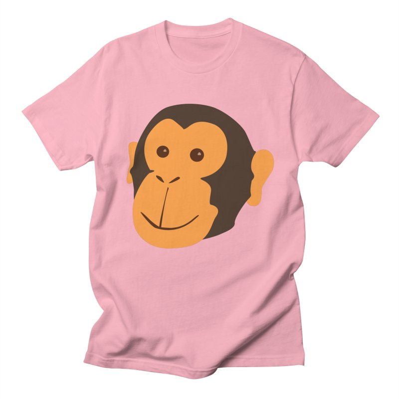 Happy Monkey Men's Regular T-Shirt by Boshik's Tshirt Shop