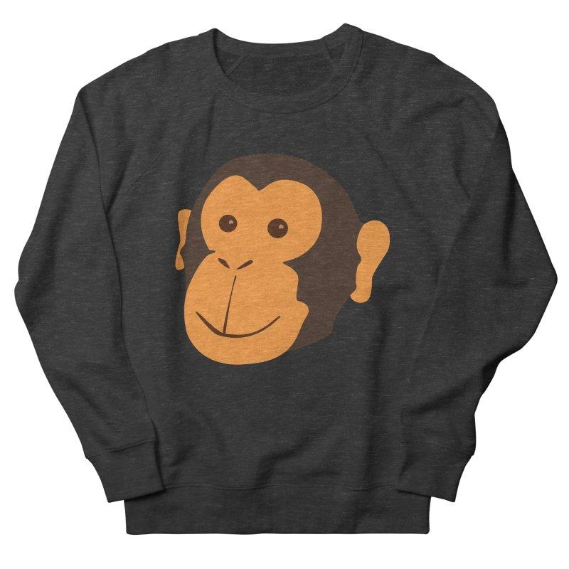 Happy Monkey  Women's Sweatshirt by Boshik's Tshirt Shop
