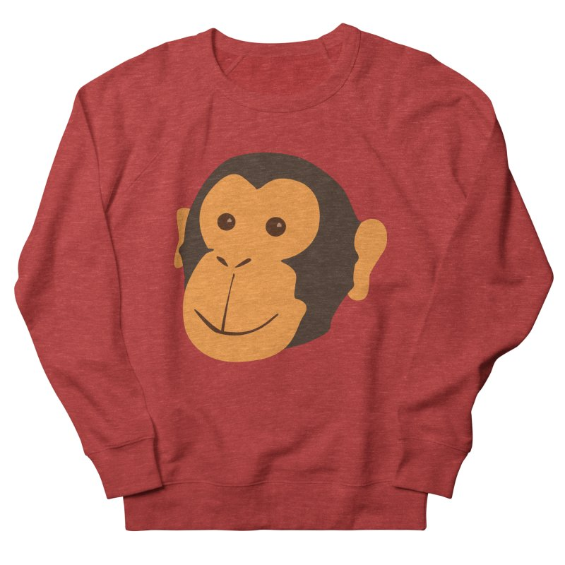 Happy Monkey  Men's Sweatshirt by Boshik's Tshirt Shop