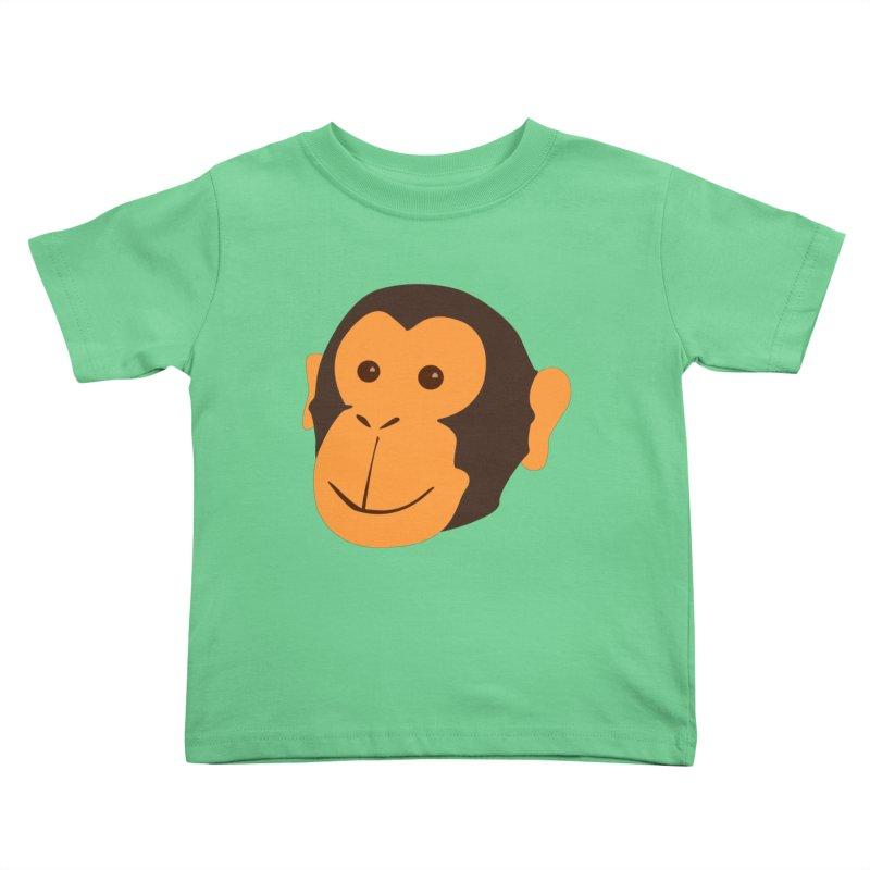 Happy Monkey Kids Toddler T-Shirt by Boshik's Tshirt Shop