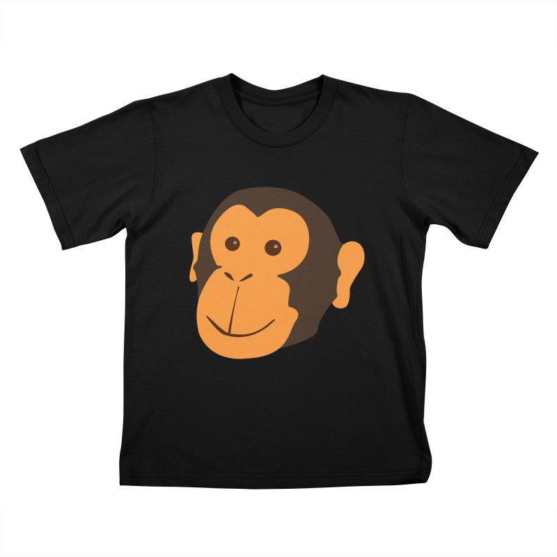 Happy Monkey Kids T-Shirt by Boshik's Tshirt Shop
