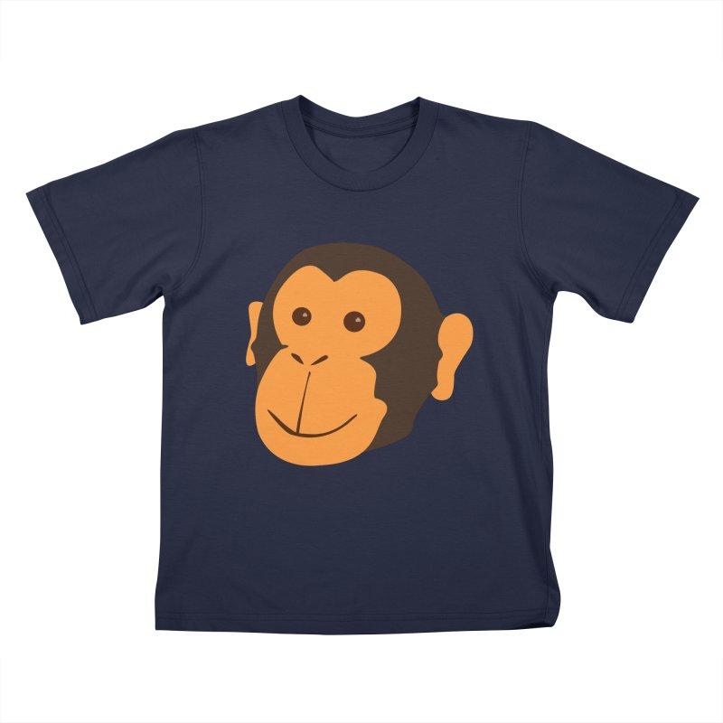 Happy Monkey Kids T-Shirt by Boshik's Tshirt Shop