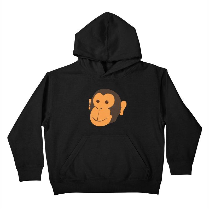 Happy Monkey Kids Pullover Hoody by Boshik's Tshirt Shop