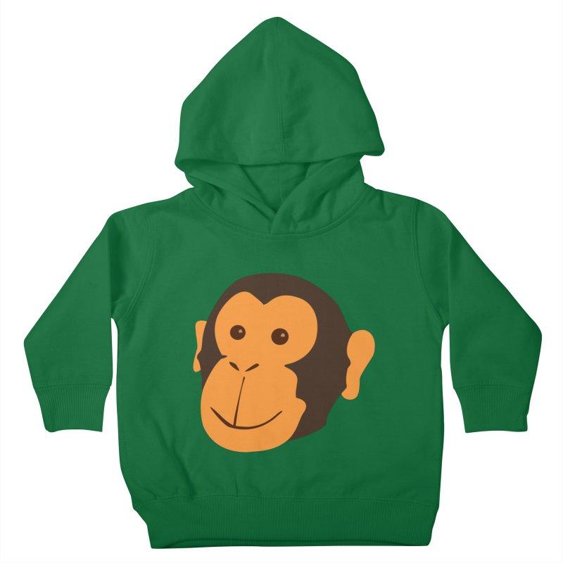 Happy Monkey  Kids Toddler Pullover Hoody by Boshik's Tshirt Shop
