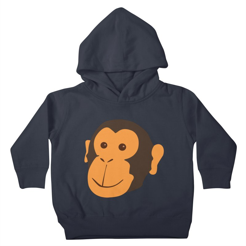 Happy Monkey Kids Toddler Pullover Hoody by Boshik's Tshirt Shop