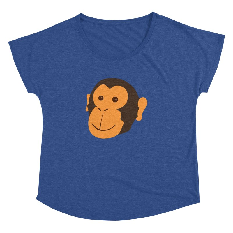 Happy Monkey Women's Dolman by Boshik's Tshirt Shop