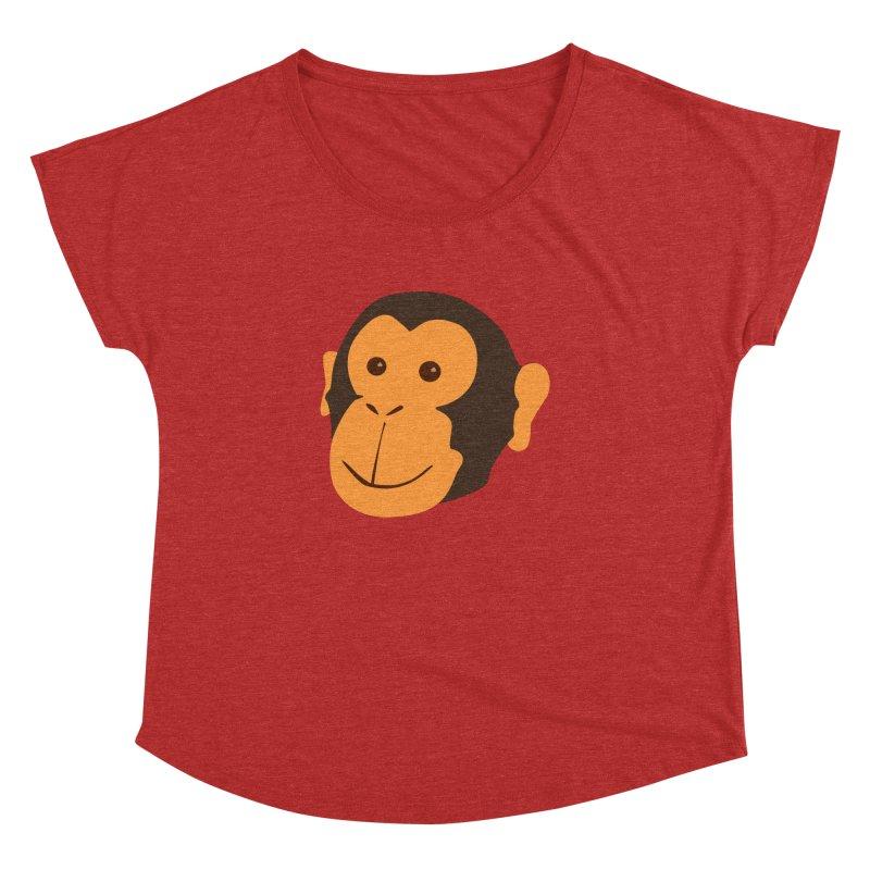 Happy Monkey  Women's Dolman by Boshik's Tshirt Shop