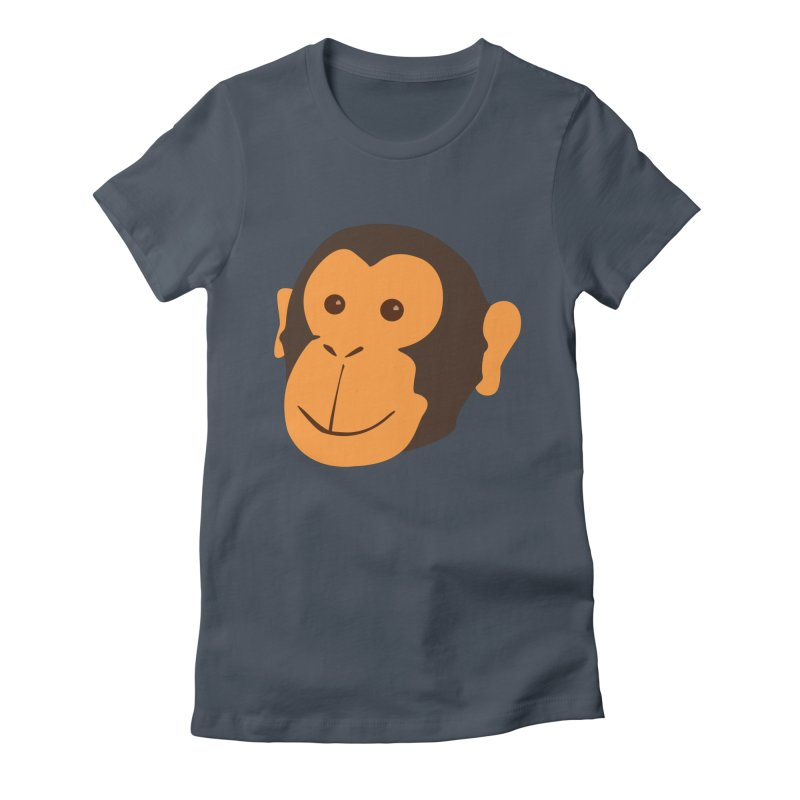 Happy Monkey Women's T-Shirt by Boshik's Tshirt Shop