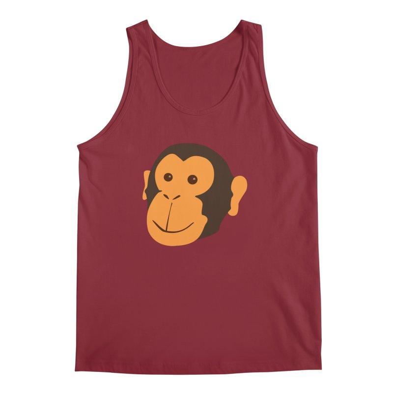 Happy Monkey  Men's Tank by Boshik's Tshirt Shop