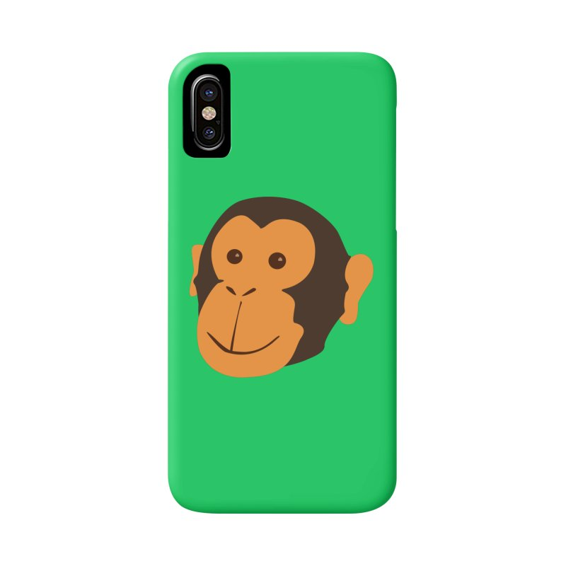 Happy Monkey  Accessories Phone Case by Boshik's Tshirt Shop