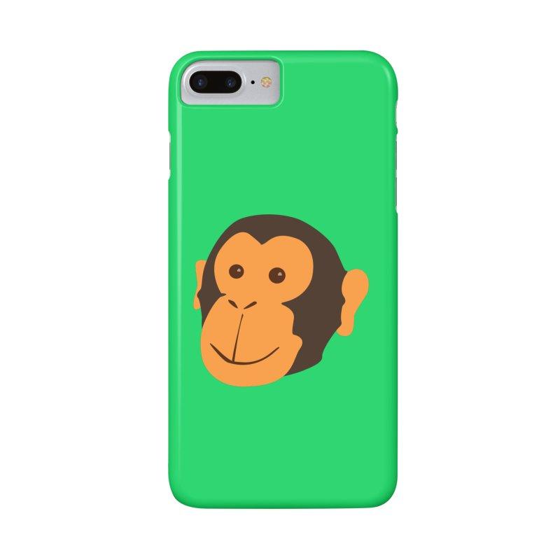Happy Monkey  Accessories Phone Case by Boshik's Tshirt Shop